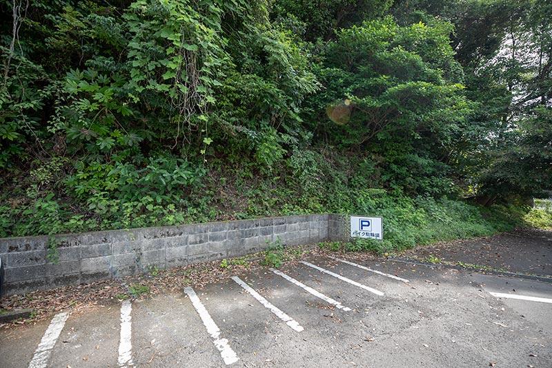 駐車場バイクj